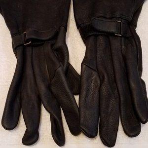 NWOT Deerskin Leather Gaunlet Gloves